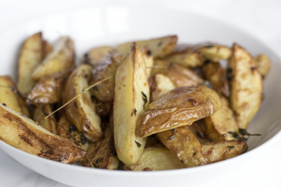 ovn stegte kartofler