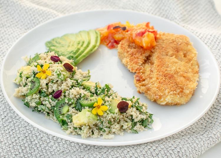 grøn couscous